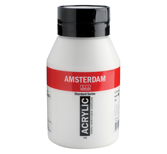 Amsterdam acrylverf Pot 1000 ml.